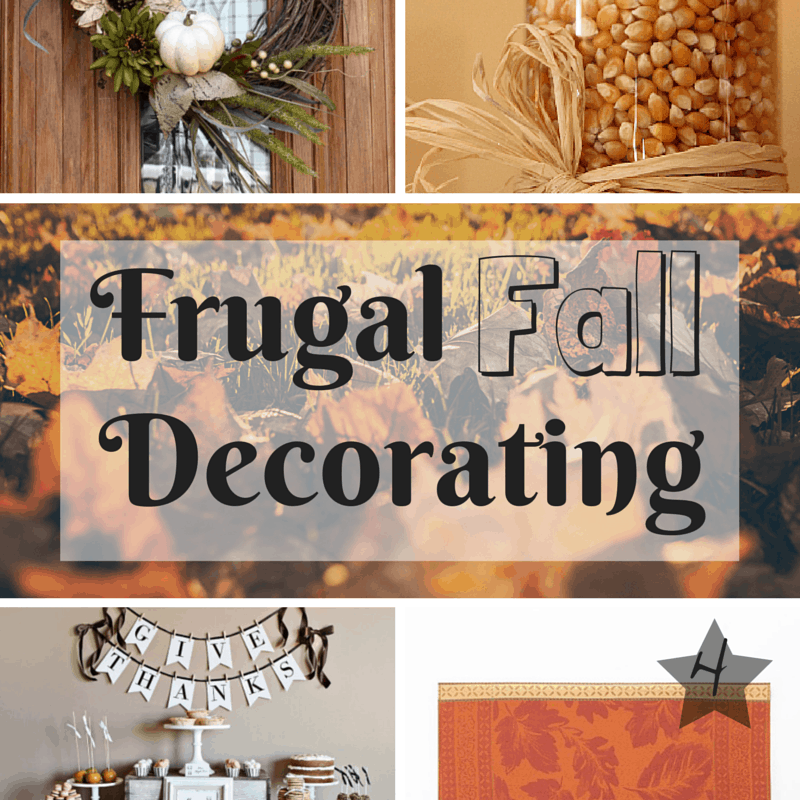 Frugal Fall Decorating