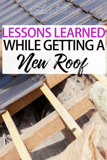 Lessons Learned from Getting a New Roof