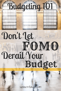 Is the fear of missing out (FOMO) causing you to overspend? Avoiding FOMO is sometimes hard to do, but it's not impossible. Here are some ways to keep yourself on track!