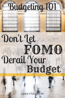 Don't Let FOMO Derail Your Budget