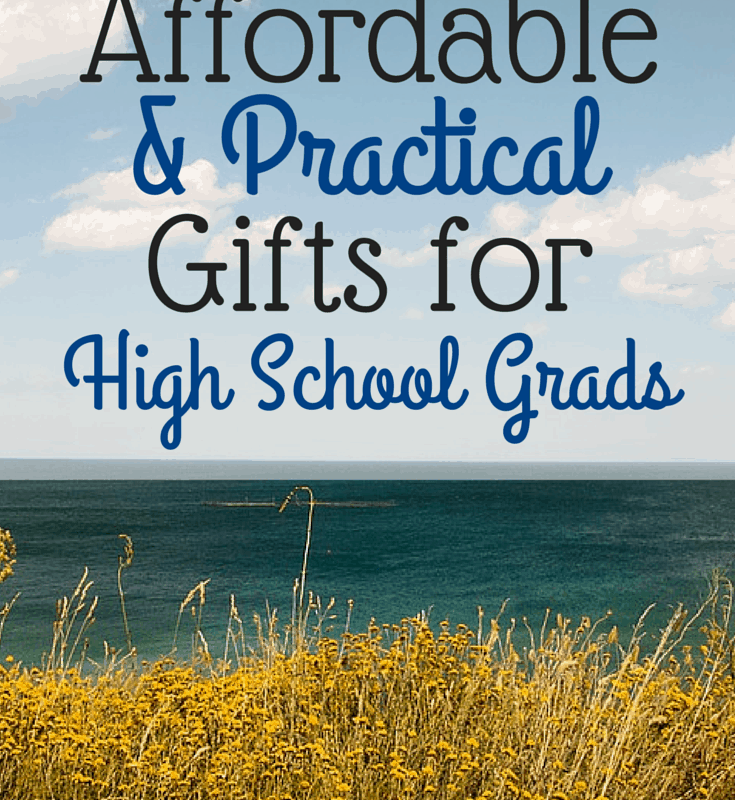Affordable Gifts for High School Grads