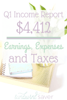 Q1 Income Report and Life Update