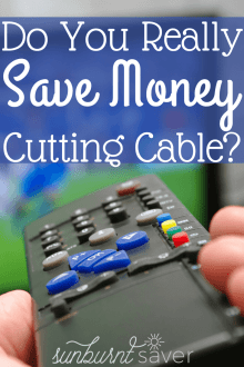 With multiple subscription services, like Netflix and Hulu, plus internet, is it really possible to save money cutting cable?
