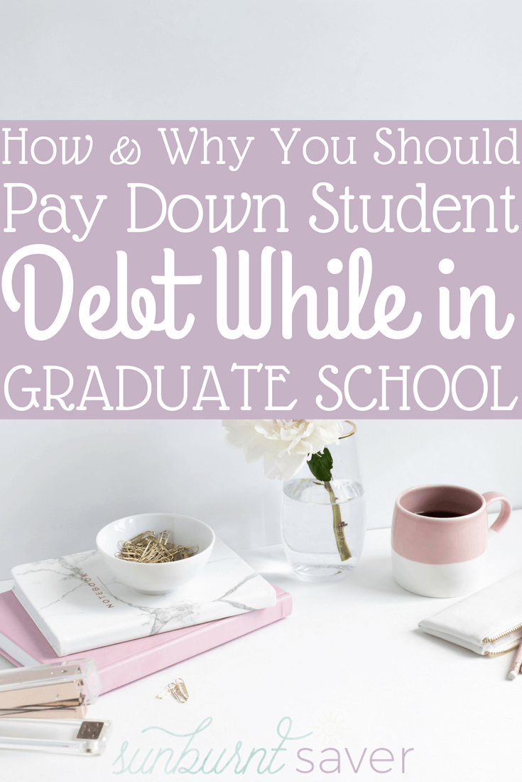 Think you'll wait until after graduation to pay down your student debt? Think again! You can pay your student loan debt right away, and here's how.