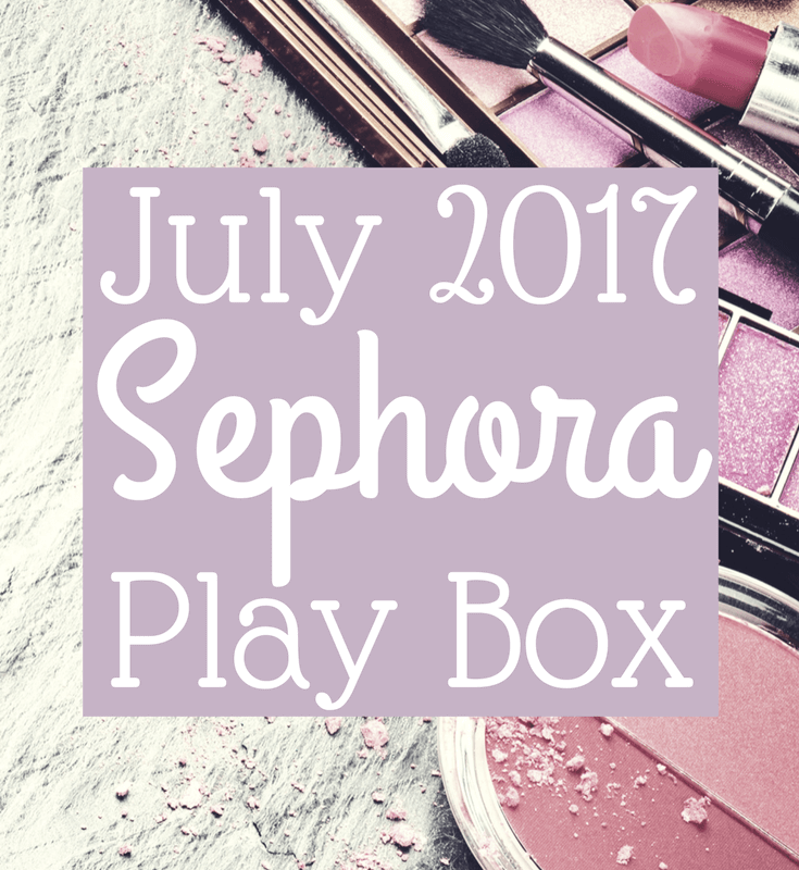 July 2017 Sephora Play Box