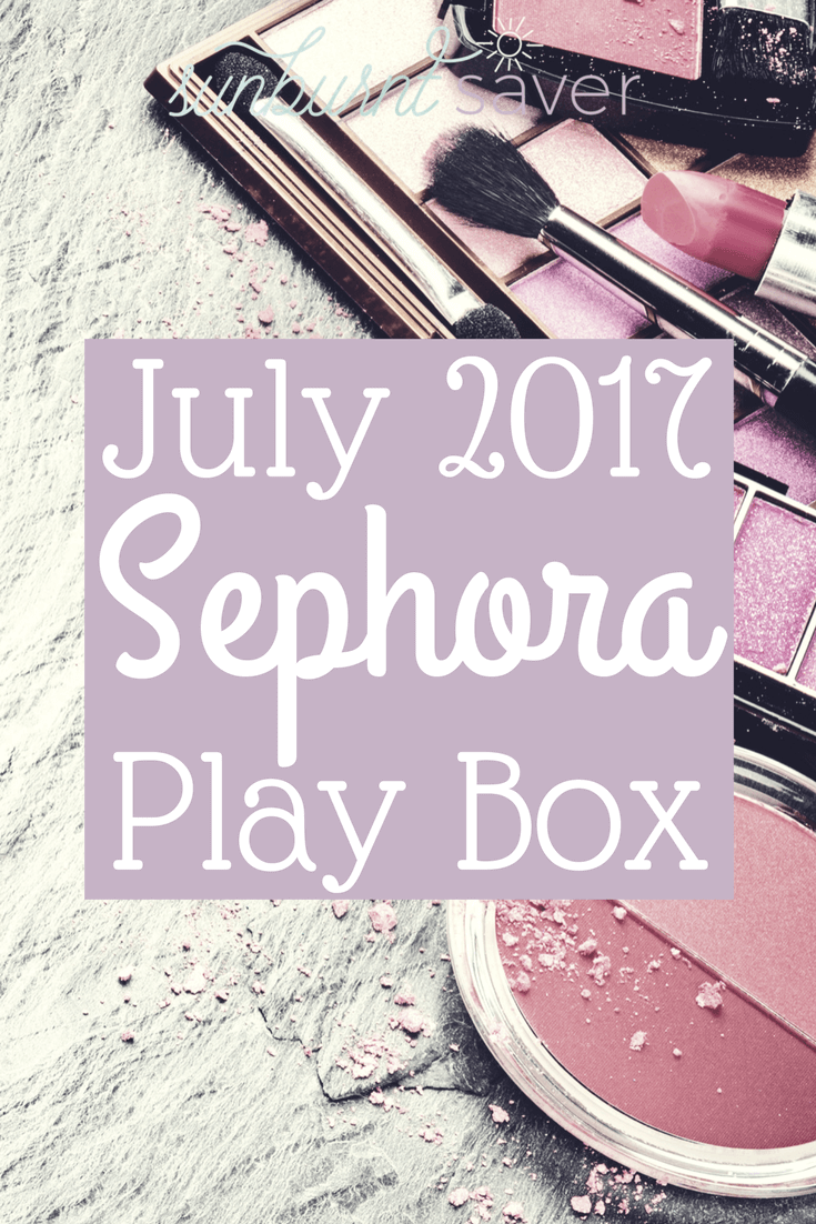 Curious to see what's in the July 2017 Sephora Play Box? The theme of this month was