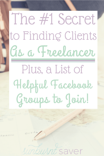 My tips on finding clients as a freelancer - whether you want to be a freelance writer, virtual assistant, or Pinterest VA!
