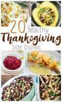 20 Healthy Thanksgiving Side Dishes