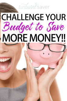 Challenge Your Budget to Save More Money