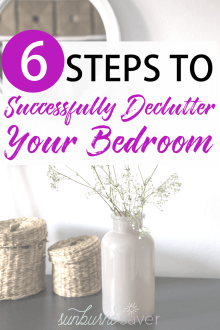 Get Rid of It! How to Declutter Your Bedroom