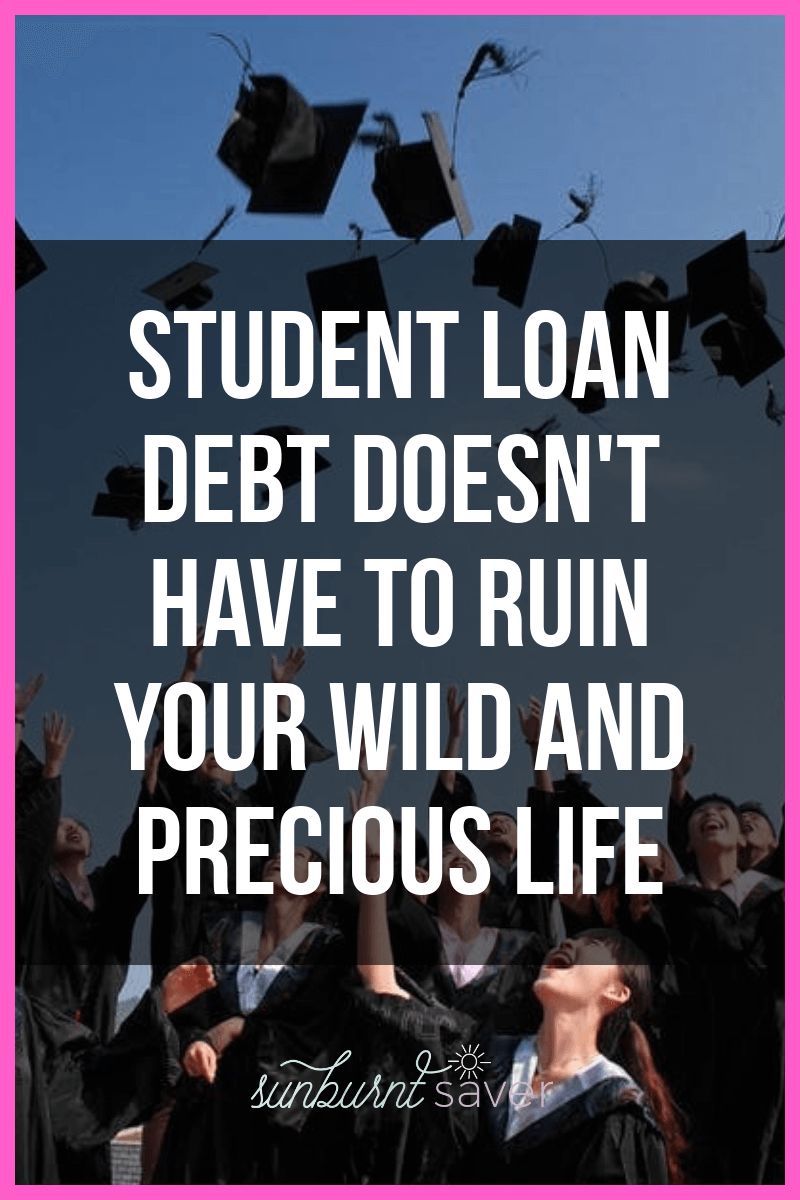 should you get your masters degree it could put you in a lot of debt