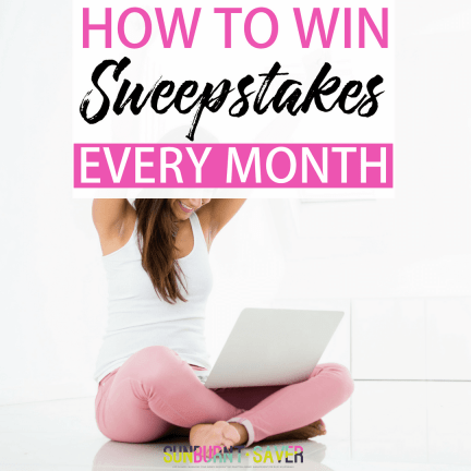 Ever wondered if it's possible to win sweepstakes prizes? It is possible, and in this article, we'll show you exactly how to maximizing your time spent finding and entering sweepstakes, so you can win sweepstakes every month without spending a lot of time!