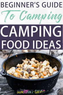 Beginner's Guide to Camping: Camping Food Ideas