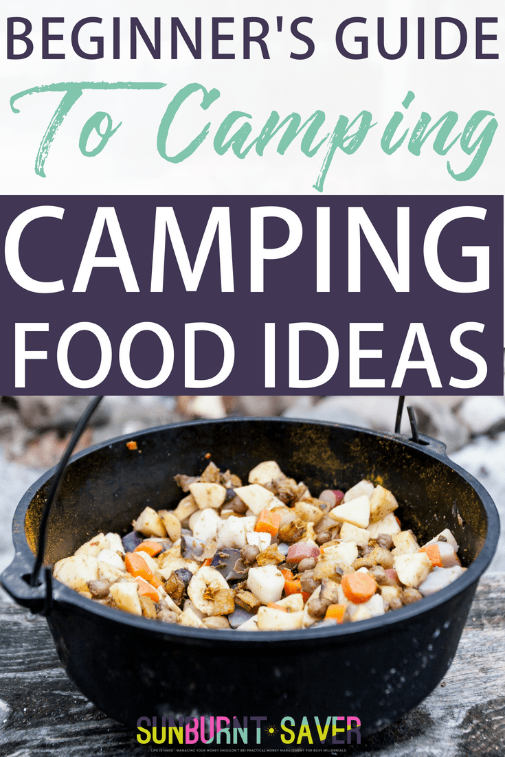 Are you looking for camping food ideas? Camping food doesn't have to be boring, icky, or expensive! A comprehensive list of easy, quick camping food ideas - #camping #campingfood #campingrecipes #campingsnacks #breakfastcamping #lunchcamping #dinnercamping #campingfoodideas