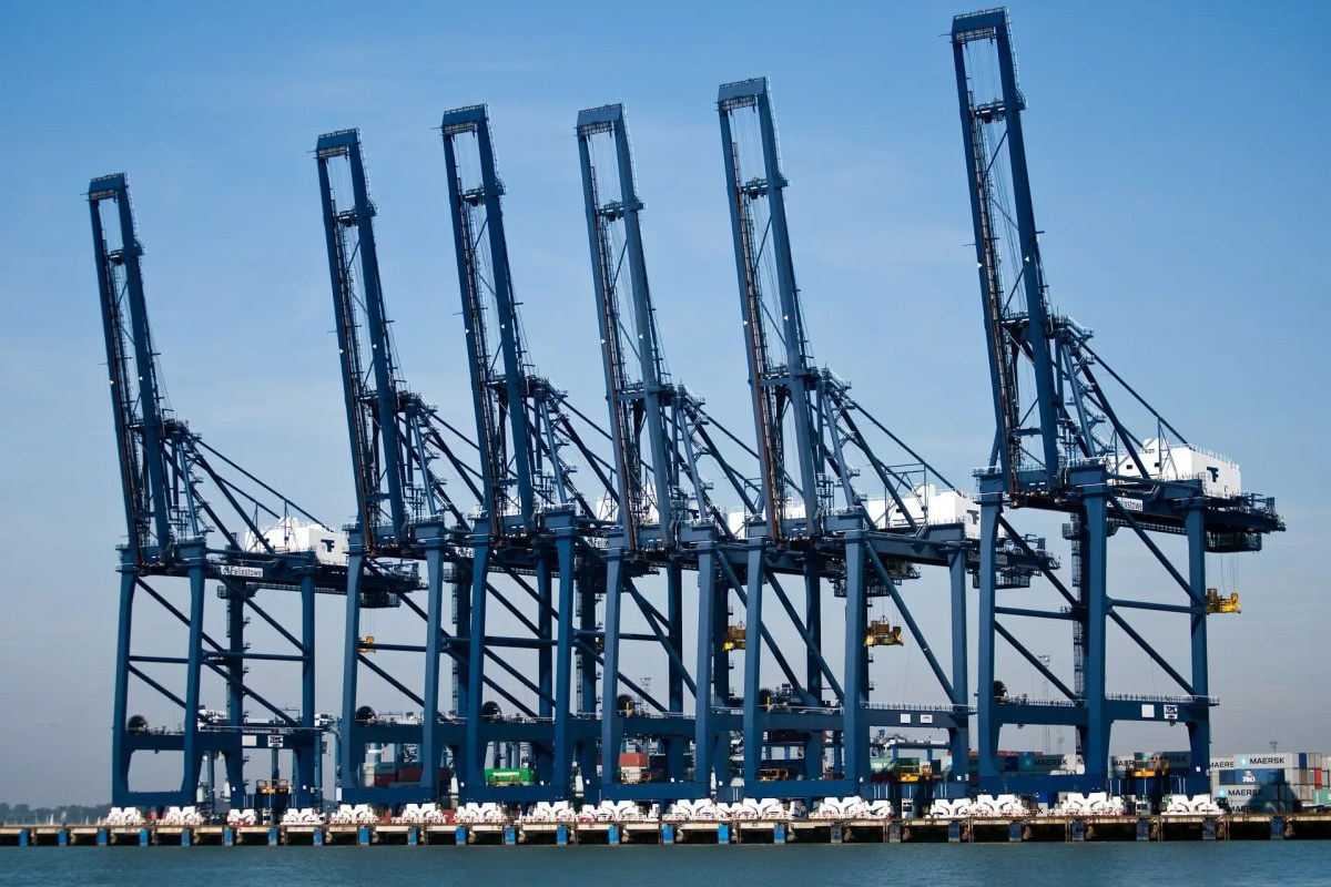 BBC article announces difficulties at Port of Felixstowe
