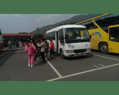 陽光巴士首次關懷活動陽明山花季之旅
