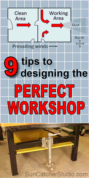 Workshop Plans And Design Tips Dust Collection Electrical Hvac Patterns Monograms Stencils Diy Projects