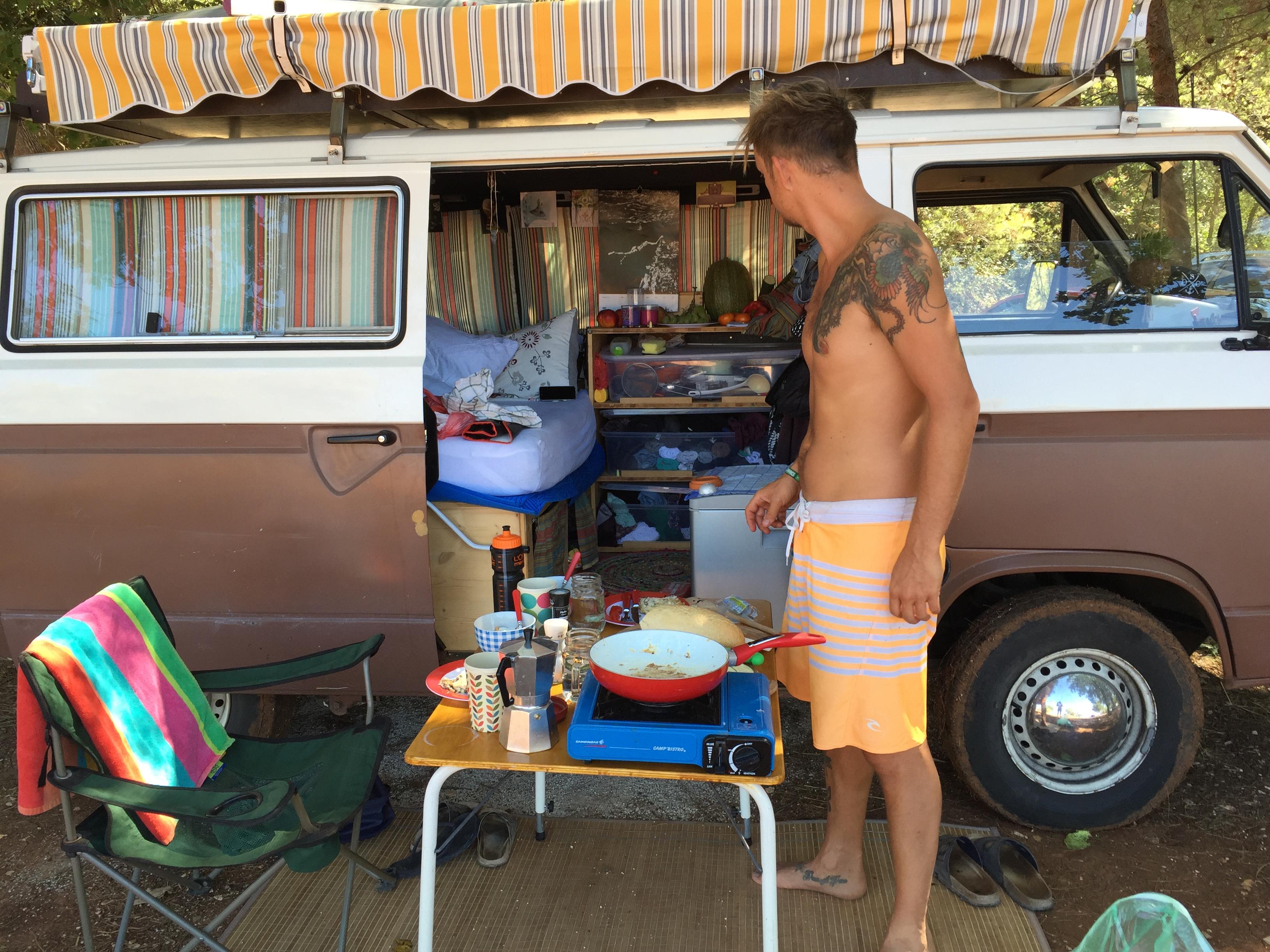 Dimensions Fesitval, Camping, Vanlife, Croatia