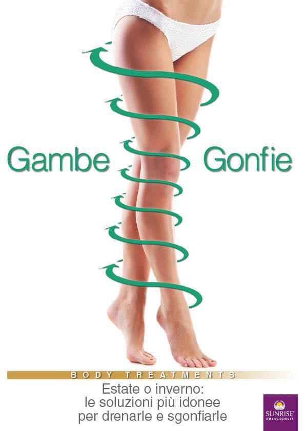 trattamento gambe gonfie