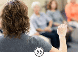 Group therapy success at SunCloud Health, located in Highland Park, IL