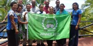 Wananavu Beach Resort wins 2016 TripAdvisor award