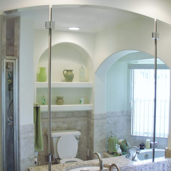 Tri-Fold Glass Shower Doors