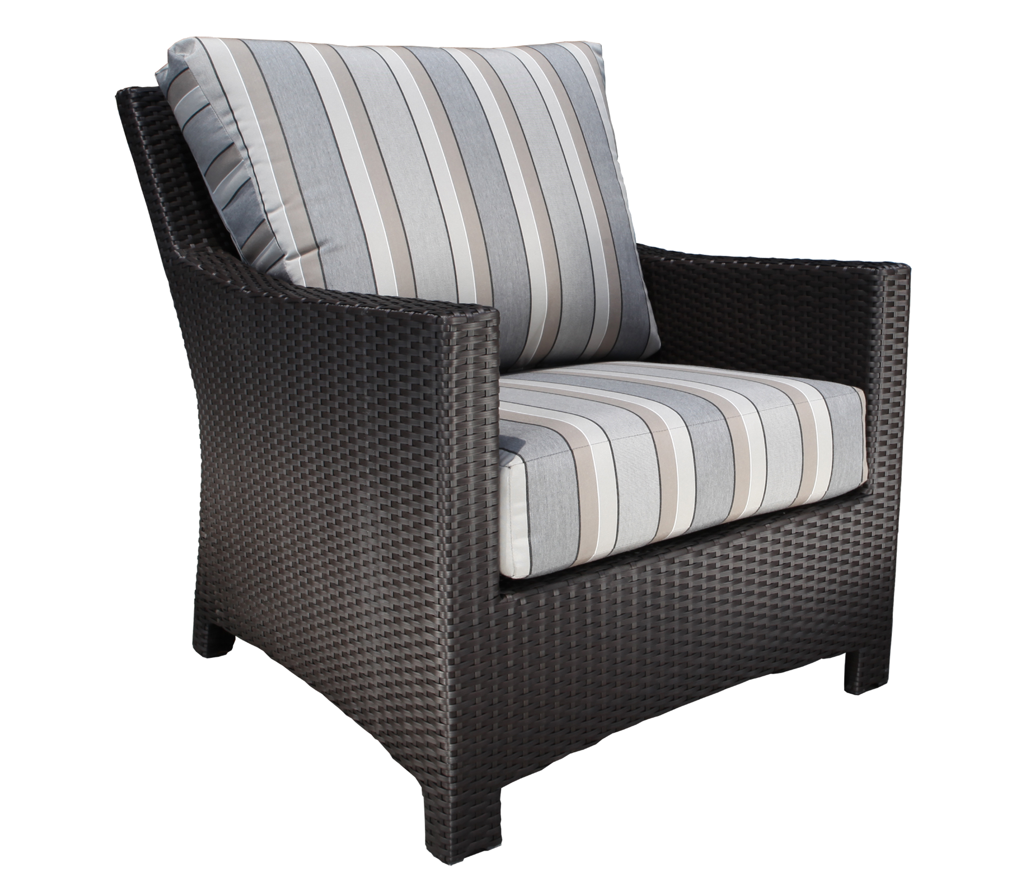 Deep Seating Patio Chairs Flight Wicker Deep Seating Chair Patio Furniture At Sun