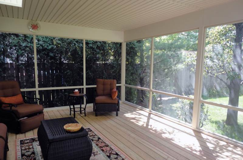 Screened Porches Columbus Ohio  Custom Built Screen Rooms