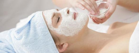 Ansigtsmaske med kisel