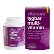 VitaCare-Tygbar-Multivitamin-med-skovbærsmag-100-tabletter-p