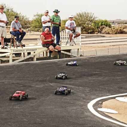 RC Race Car Track