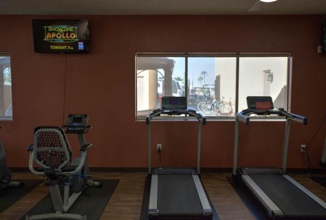Work out room at Sundance 1 RV Resort