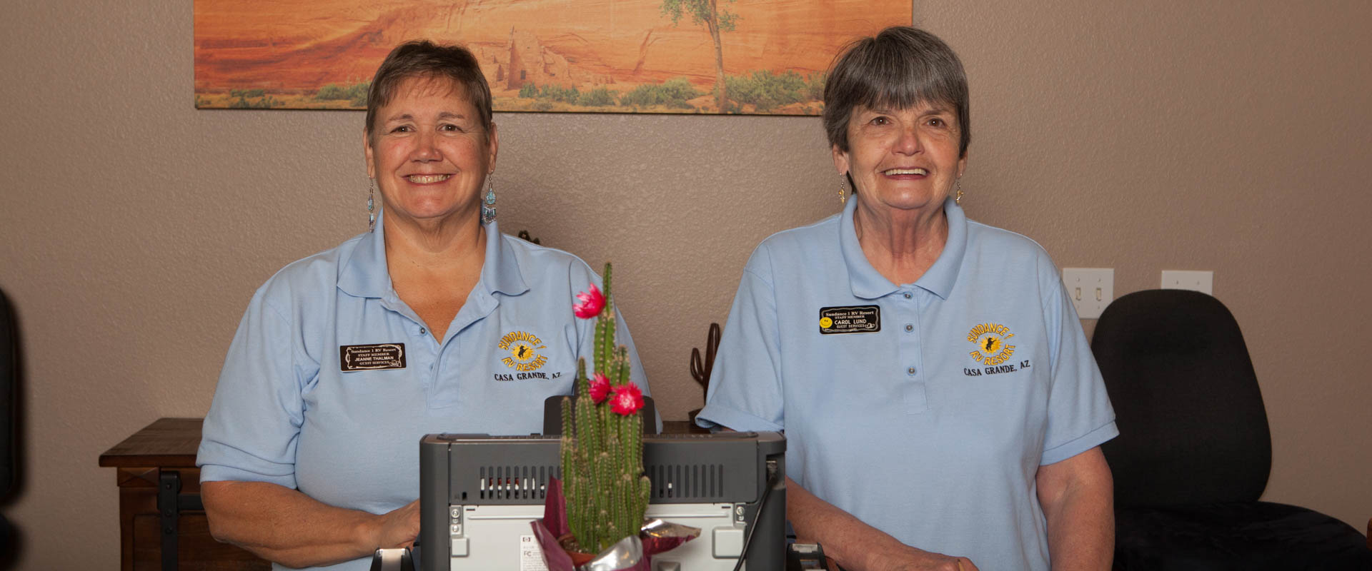 RV Resort Staff