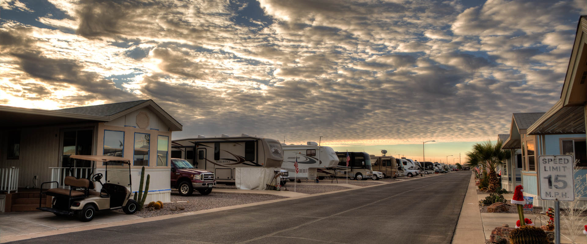 RV Sites at Sundance 1 RV Arizona Resort