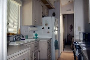 Park Model Kitchen Area Casa Grande Arizona