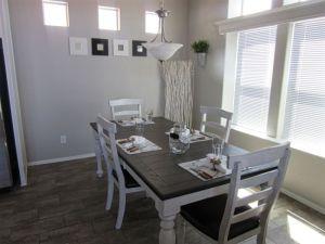 RESORT HOME DINING AREA ARIZONA 55+ GATED COMMUNITY