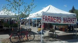 CCFA Farmers' Market tent