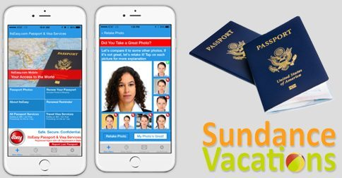 Its easy passport photo app for Facebook Sundance vacations