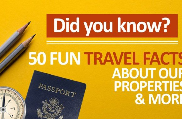 50 Fun Travel Facts and Trivia