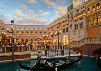 Sundance Vacations Gondolas at Venetian Hotel in Las Vegas