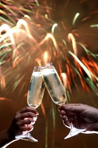 TOASTING THE NEW YEAR