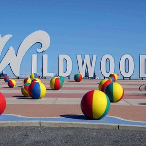 Spring in Wildwood, New Jersey