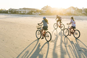 Sundance Vacations Hilton Head bikes