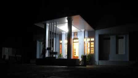 View of Sundara Mahal at Night