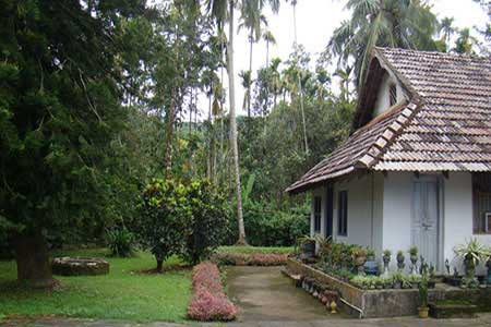 View from Sundara Mahal Garden The Granary Exterior Landscape