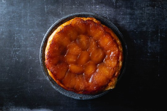 tarte tatin french apple tart