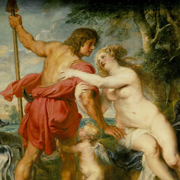 Venus and Adonis, Peter Paul Rubens (1630s)