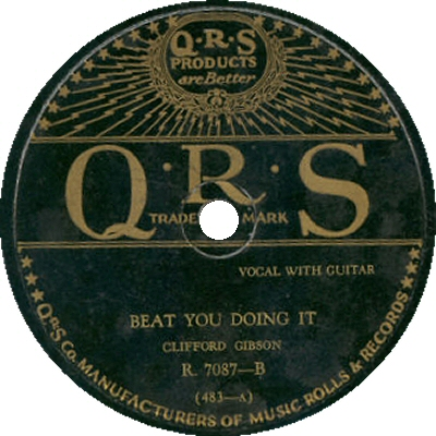 Clifford gibson: Beat You Doing It