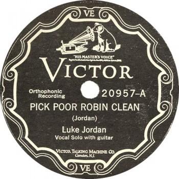 Pick Poor Robin Clean