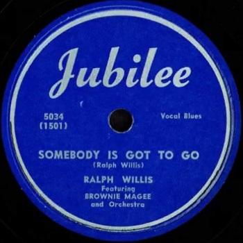 Ralph Willis: Somebody's Is Got To Go